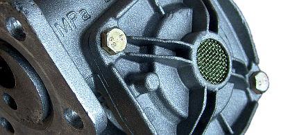 autoagregát - hydraulický rozvaděč